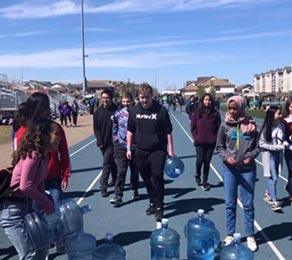 Water Walk for Africa 2019- Holy Trinity High School