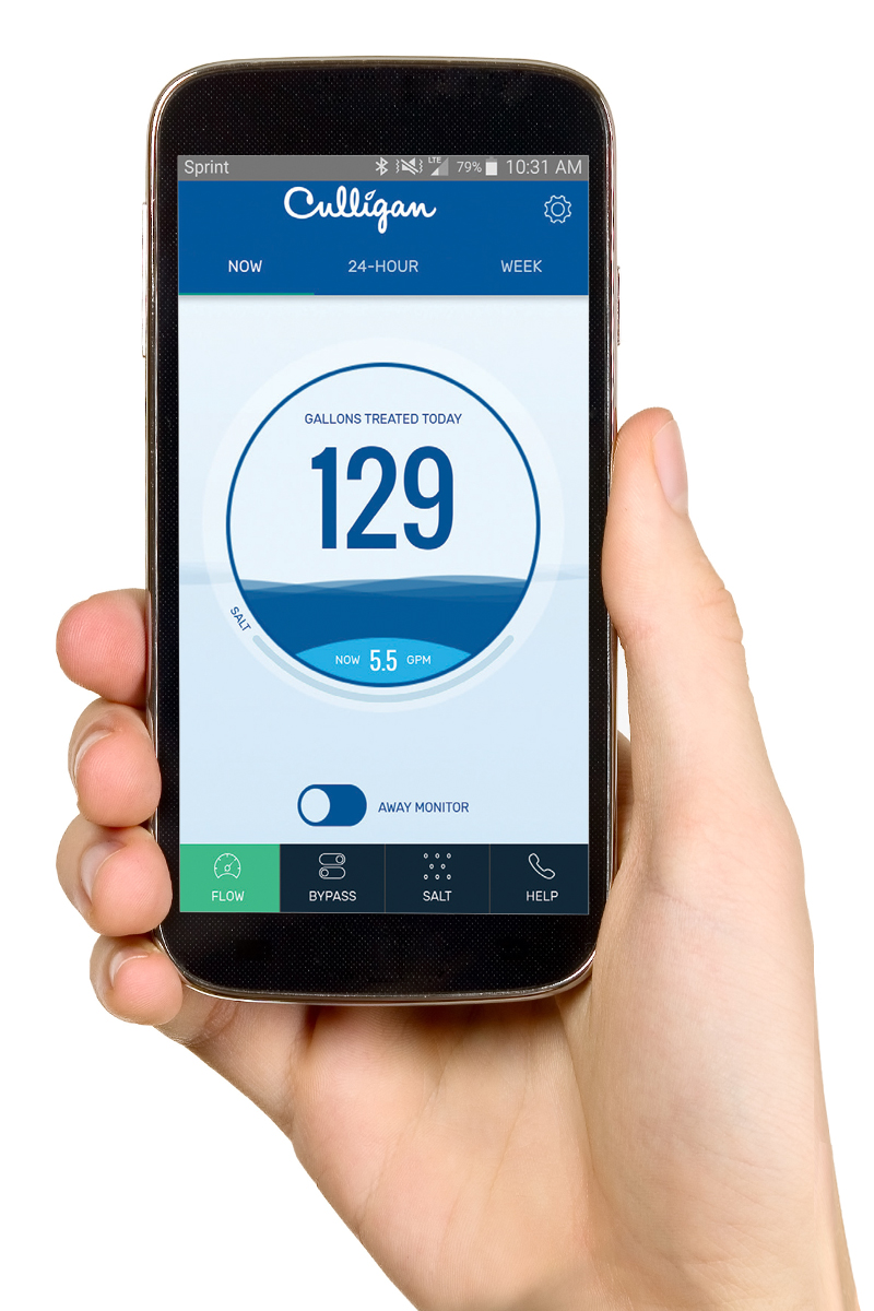 Culligan app for smart phones